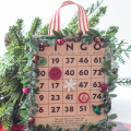 Add some vintage style to your tree with these handmade Christmas bingo card ornaments. You can also make a playable set, too, for family game night.