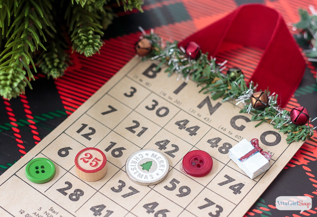 Add some vintage style to your tree with these handmade Christmas bingo card ornaments. You can also make a playable set for family game night.