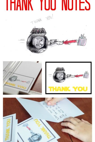 Create Custom Thank You Cards From Kid's Artwork
