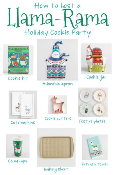 Llama-Rama Christmas Cookie Baking Party