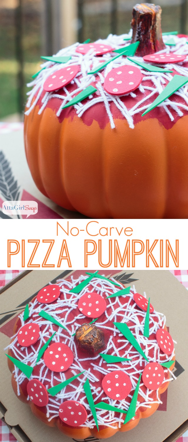 Halloween Pumpkin Ideas No,Carve Pizza Pumpkins