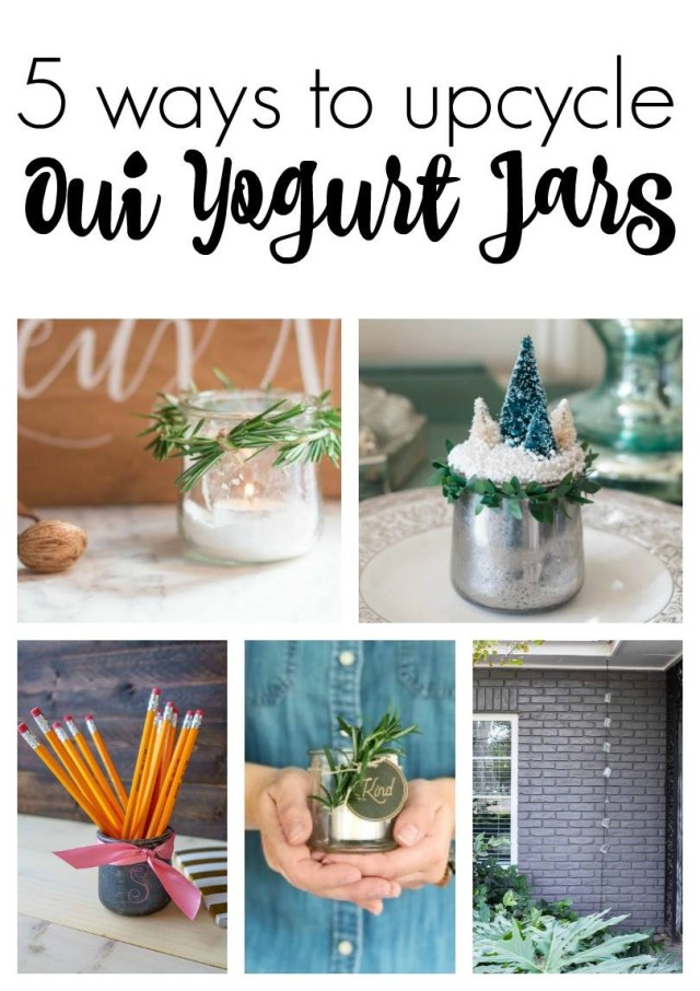 Don't throw away those old baby food or glass yogurt jars. Upcycle them into beautiful crafts, home decor and practical items for your home. Click for instructions on how to make all these projects.