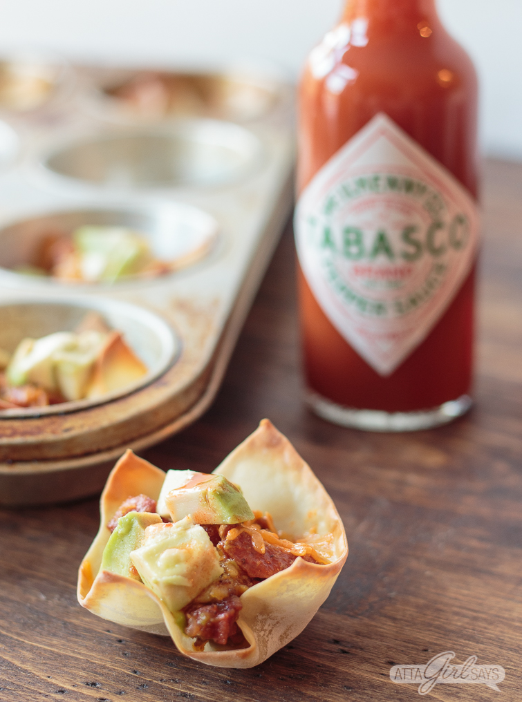 Add these chorizo-and-avocado stuffed wonton cups, featuring an epic matchup of Avocados from Mexico and TABASCO® Sauce, to your Big Game menu, plus check out four other easy avocado recipes. #ad