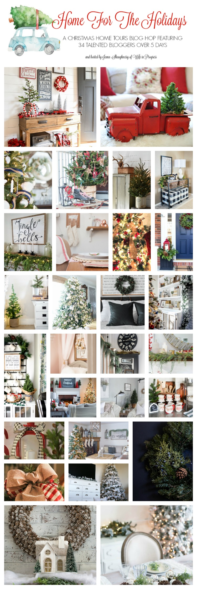 Home For the Holidays Blogger Christmas Home Tour