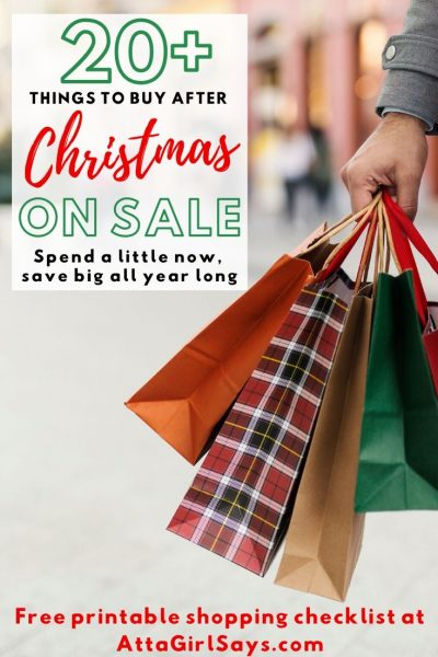 20 Things to Buy at Day After Christmas Sales