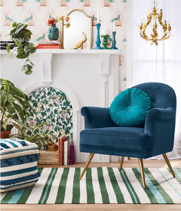 If you love vintage decor, hurry to Target to check out the new Opalhouse collection, which features bold colors and patterns, gold and brass accents and eclectic finds. These vintage-style pieces look like they've been collected from antique shops and flea markets around the world. #opalhouse #targetstyle #vintagestyle boho