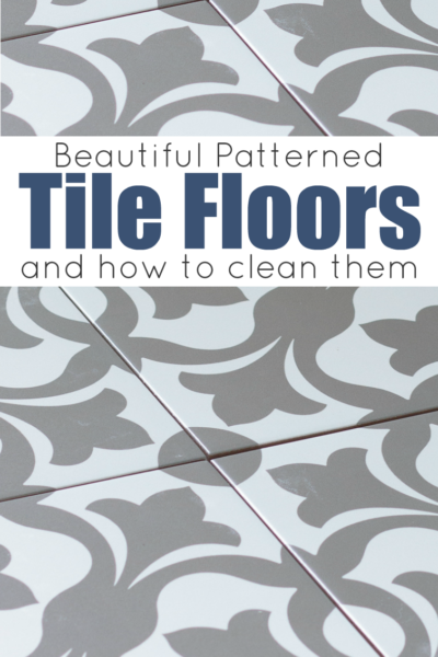 Beautiful Patterned Tile Floors & How to Clean Them