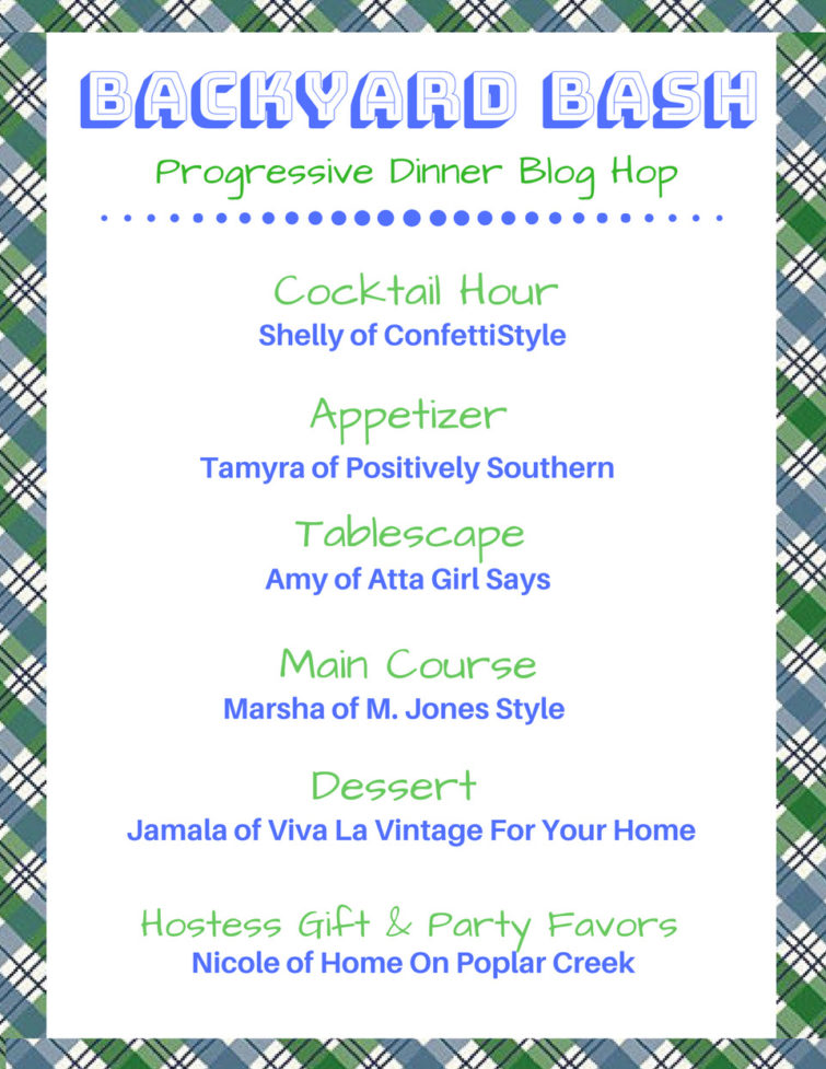Summer Soiree Progressive Dinner Hop Lineup