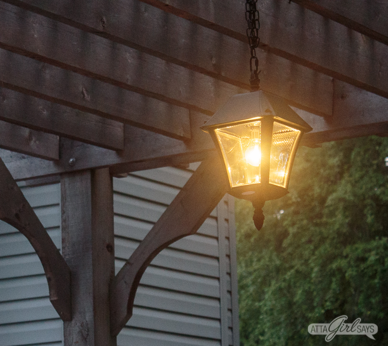 Outdoor Solar Chandelier For Your Pergola: Easy DIY