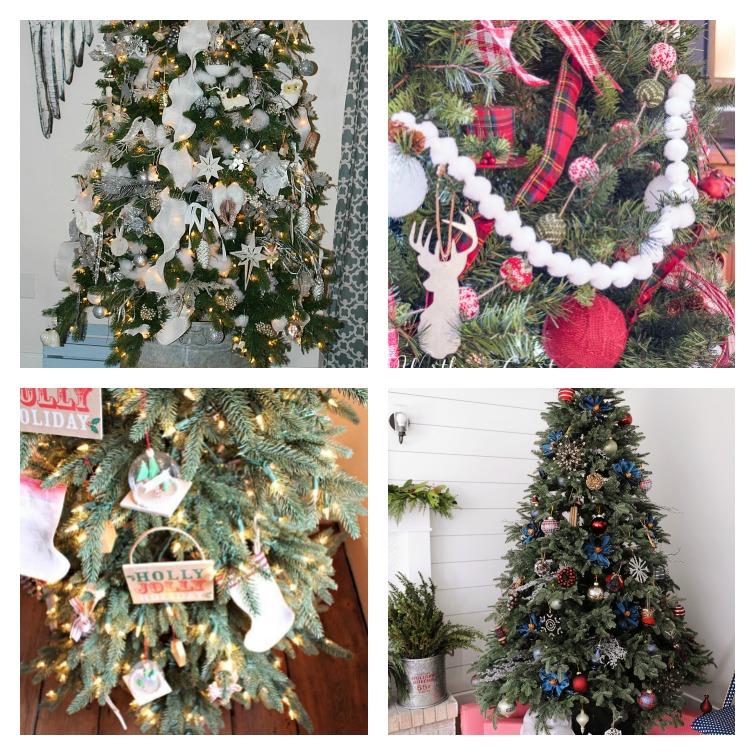 Farmhouse Christmas Trees Atta Girl Says