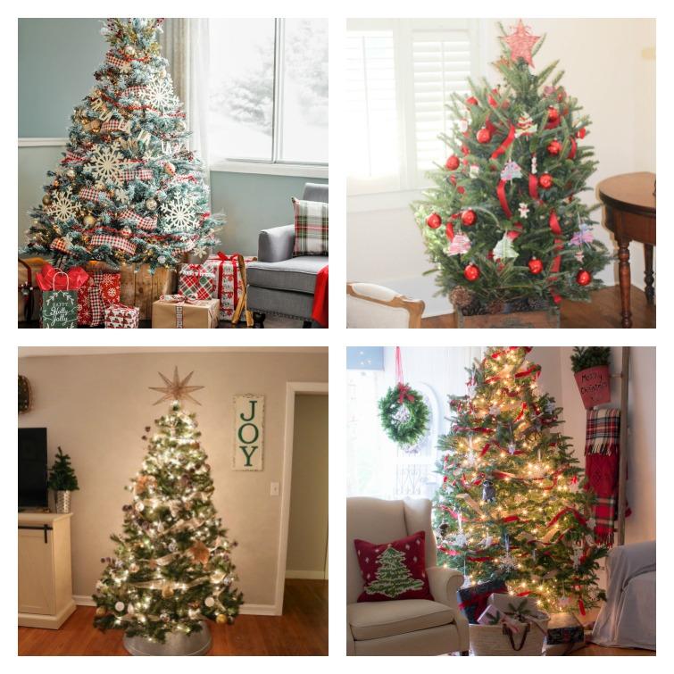 Farmhouse Style Christmas Trees Atta Girl Says