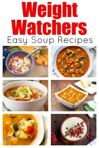 Quick And Easy Weight Watchers Soup Recipes