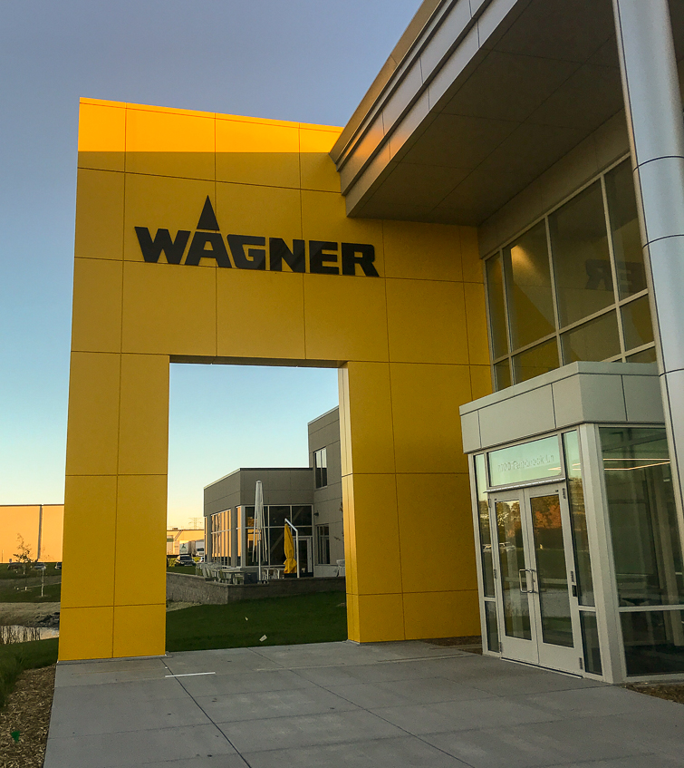 Wagner headquarters building in Minneapolis