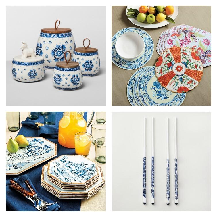 chinoiserie dinnerware