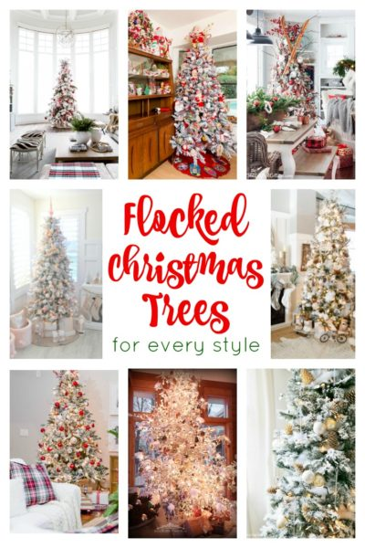 Stunning Flocked Christmas Tree Inspiration For Every Style