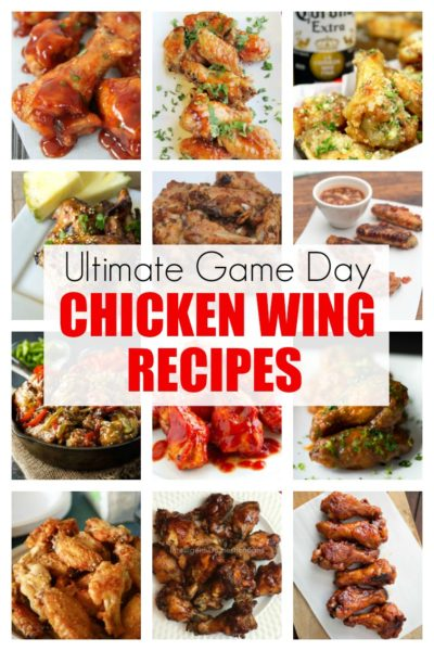 Ultimate Game Day Chicken Wing Recipes