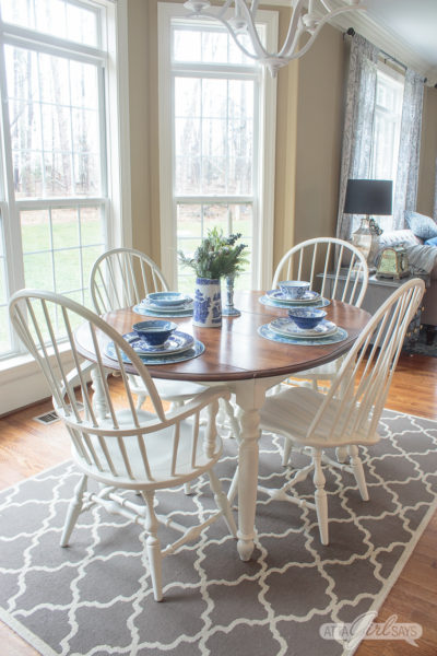 How to Paint Windsor Dining Chairs The Easy Way