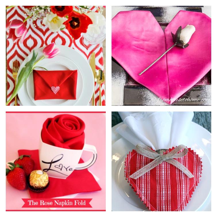 Valentine's Day Napkin Fold Ideas Atta Girl Says