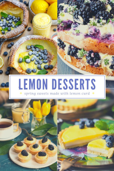 Lemon Curd Desserts For Spring