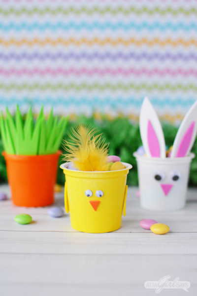 Recycled K Cups Easter Candy Treats for Kids