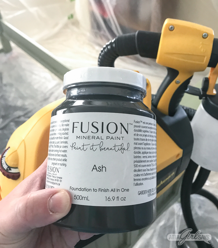 Fusion Mineral Paint in Ash