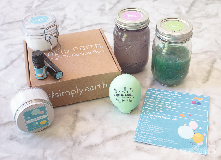 items you can make with the Simply Earth Essential Oil Recipe Box
