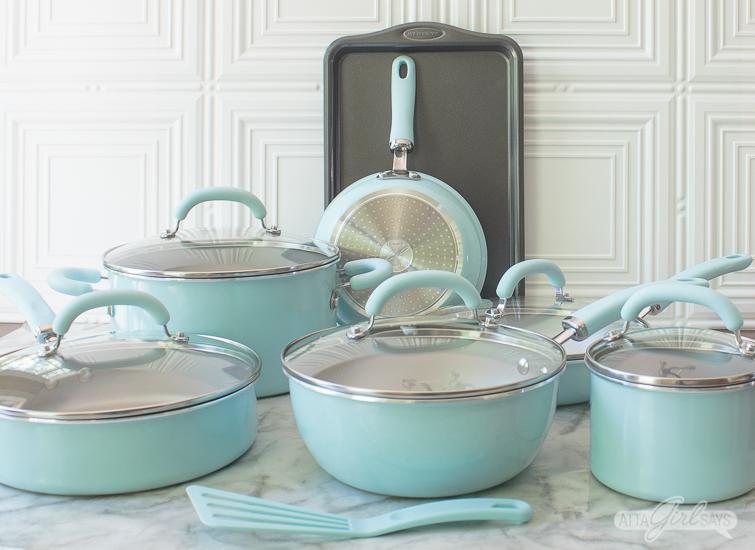 Rachael Ray Create Delicious cookware set