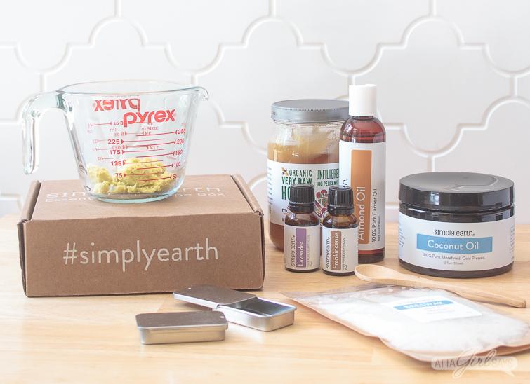 ingredients to make DIY eye cream