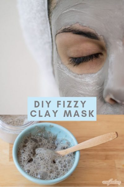DIY Carbonated Clay Bubble Mask