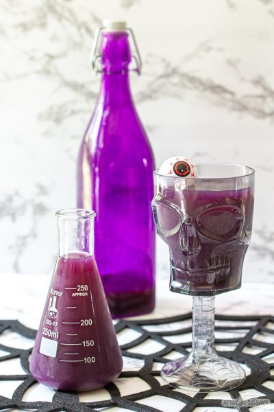 Purple People Eater Halloween Punch