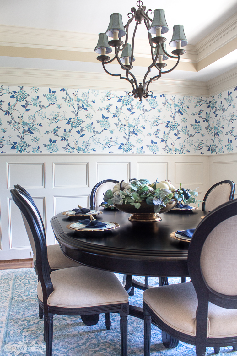 dining room wallpaper designs | Dining Room Wallpaper Ideas & Inspiration from Real Homes