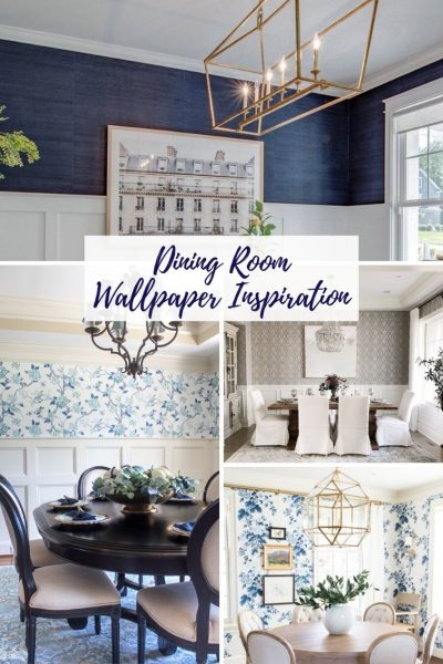 16 Beautiful Wallpaper Ideas For Your Dining Room