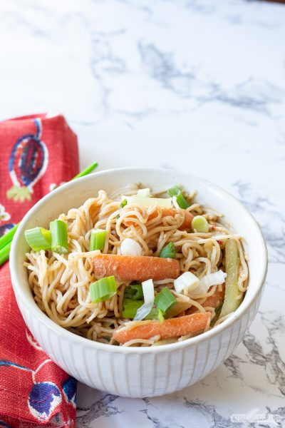 Quick & Easy Cold Sesame Noodles